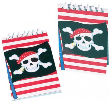 Mini blocco note pirata