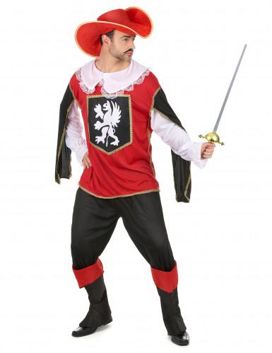 Costume da moschettiere per uomo-1