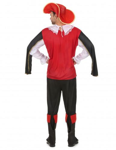 Costume da moschettiere per uomo-2