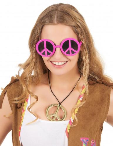 Occhiali Hippy rosa-1