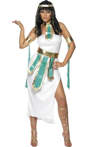 Costume regina d'Egitto donna turchese