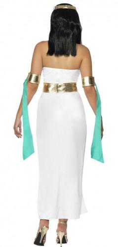 Costume regina d'Egitto donna turchese-1