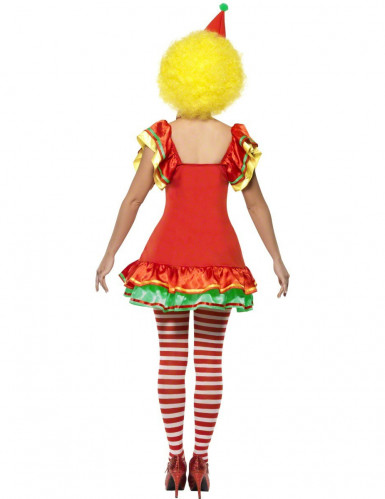 Costume clown allegro donna-1