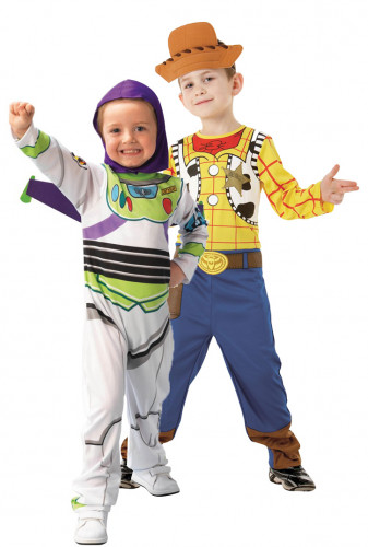 Costume coppia Buzz Lightyear e Woody, Toy Story Disney Pixar™ bambini