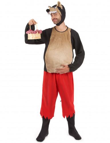 Costume coppia Cappuccetto Rosso e Lupo cattivo-1