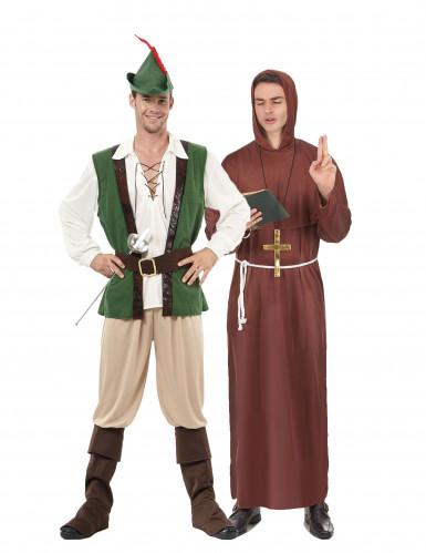 Costume coppia Robin e monaco dei boschi