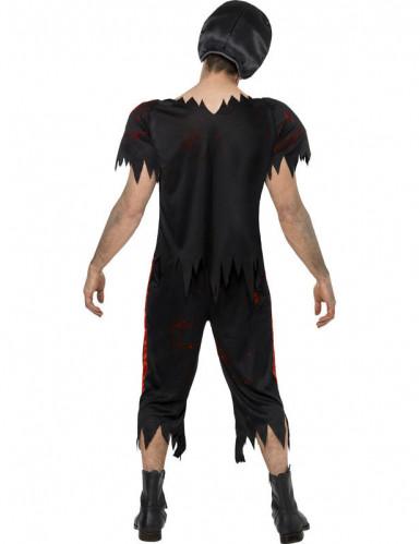 Costume zombie giocatore football americano uomo Halloween-1