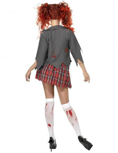 Costume alunna zombie Halloween-1