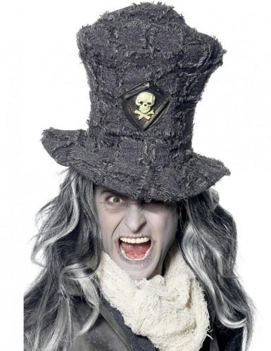 Cappello a cilindro con teschioper adulto - Halloween