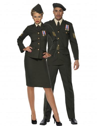 Costume coppia ufficiali militari