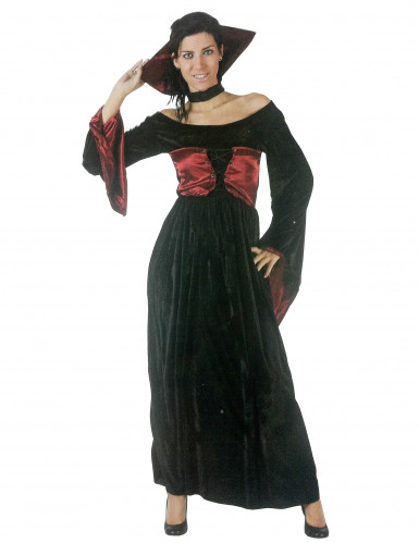 Costume da donna vampira per Halloween