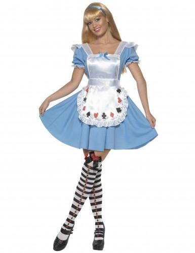 Costume Alice nel Paese delle Meraviglie donna
