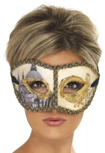 Maschera veneziana da Colombina adulto