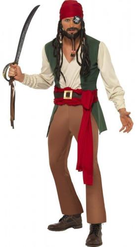 Costume pirata degli oceani per uomo