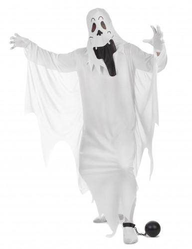 Costume fantasma burlone per adulto-1