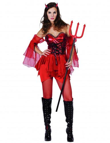 Costume diavolessa provocante donna Halloween
