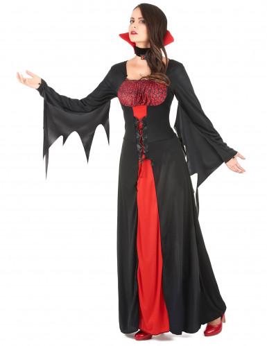 Costume da vampiro donna Halloween-1