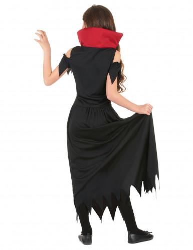 Costume da vampiro per bambina Halloween-2