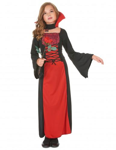 Costume vampiro romantico per bambina