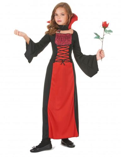 Costume vampiro romantico per bambina-1