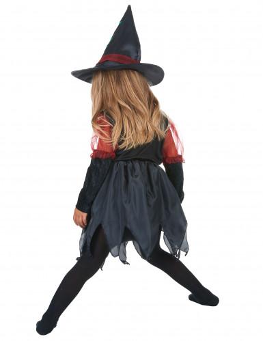 Costume strega dei boschi bambina Halloween-2