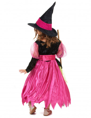 Costume strega Halloween bambina-2