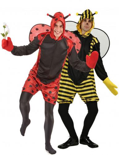 Costume da coppia ape e coccinella uomini