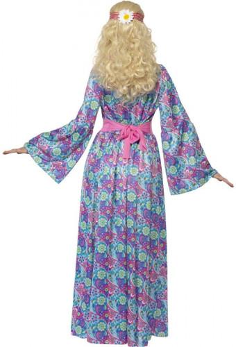 Costume hippie a fiori donna-1