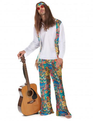 Costume hippy chitarrista per uomo
