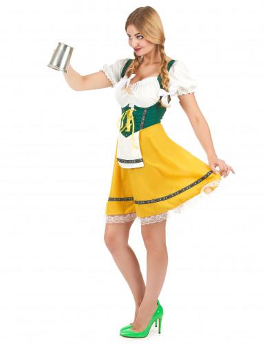 Costume da bavarese con laccetti per donna-1
