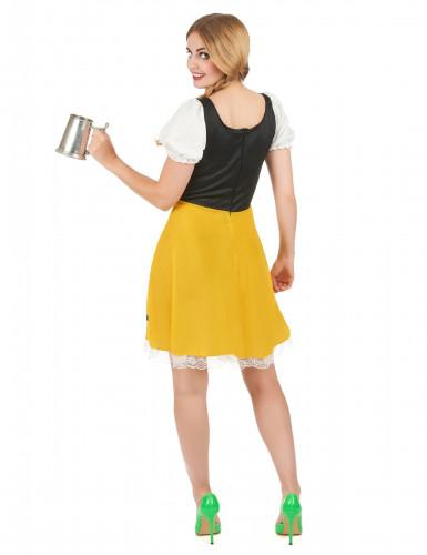 Costume da bavarese con laccetti per donna-2