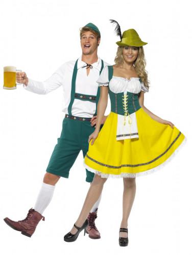 Costumi coppia bavaresi