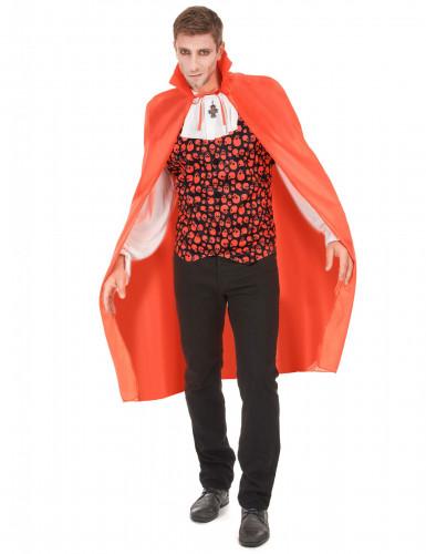 Mantello rosso vampiro uomo