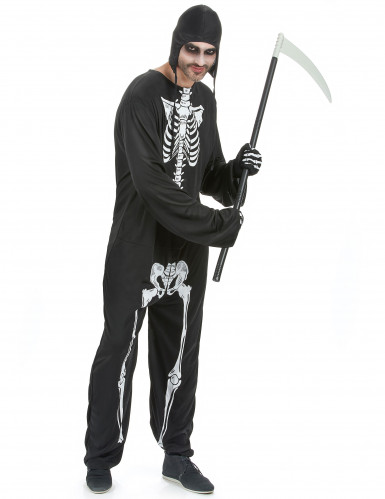 Costume scheletro uomo Halloween
