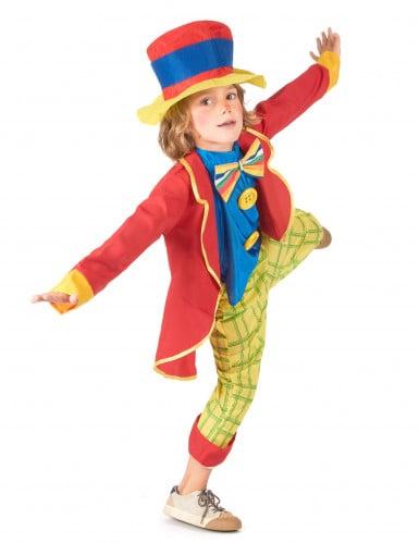Costume da clown con cappello da bambino-1