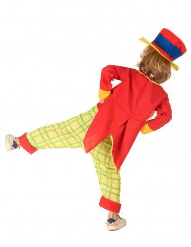Costume da clown con cappello da bambino-2