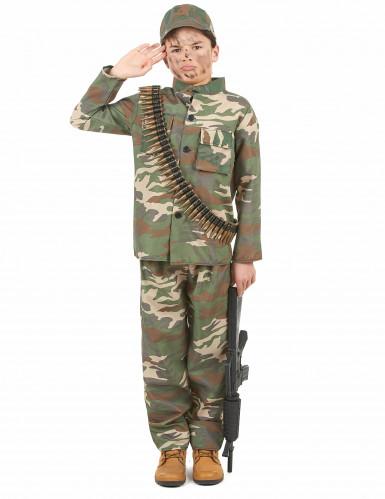 Costume soldato per bambino