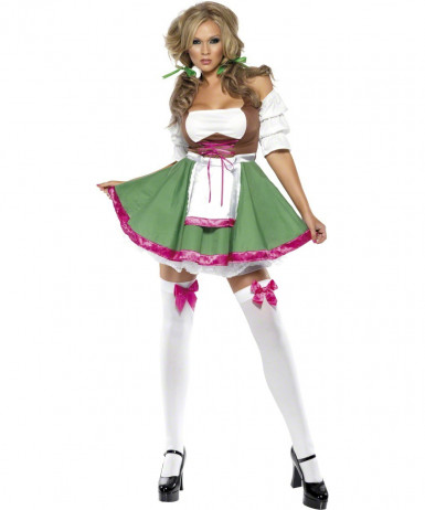Costume bavarese sexy donna
