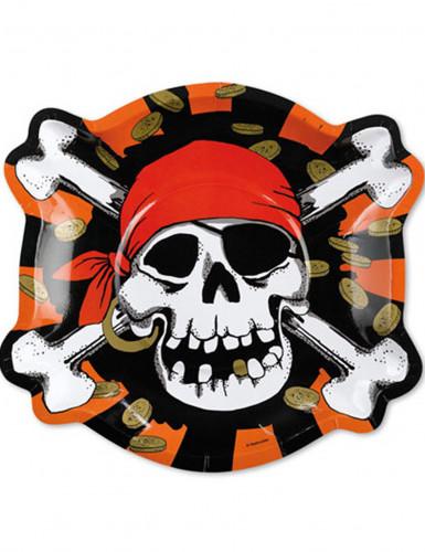 6 piatti pirati