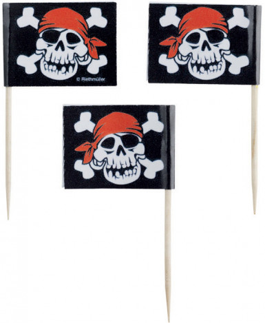 Stuzzicadenti da cocktail pirata