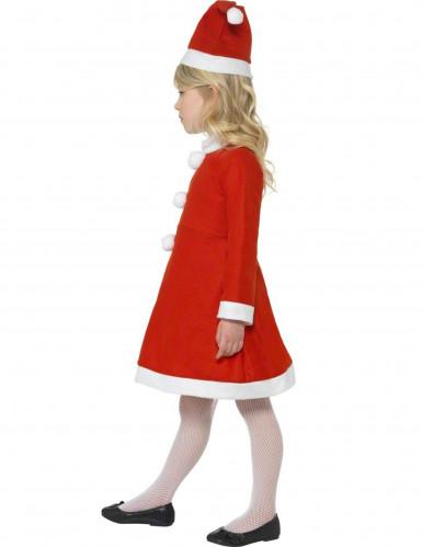 Costume piccola mamma Natale bambina-1