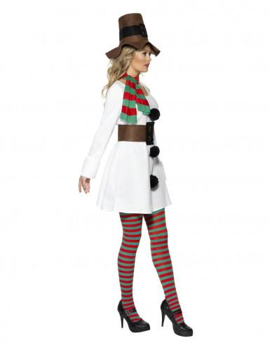 Costume pupazzo di neve donna natale-1