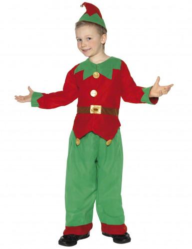 Costume elfo natale bambino