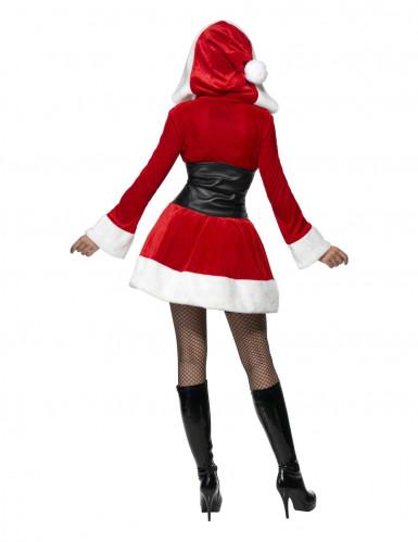 Costume Mamma Natale con corsetto per donna-1
