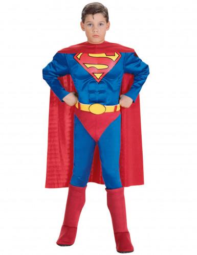 Costume Superman™ Muscoloso per bambino