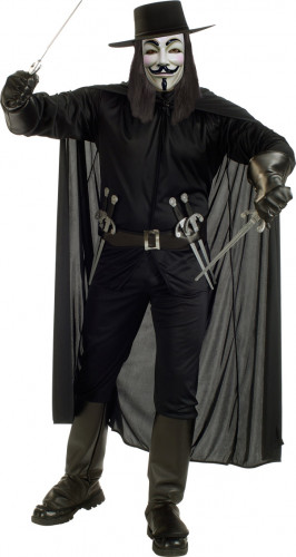 Costume V per Vendetta™ uomo