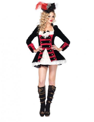 Costume capitano pirata sexy donna