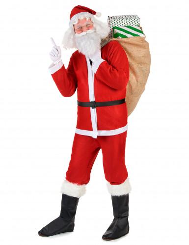 Costume da Babbo Natale per adulti-1