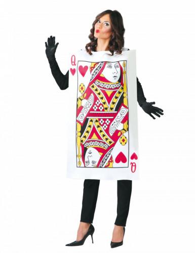Costume carta regina di cuori donna