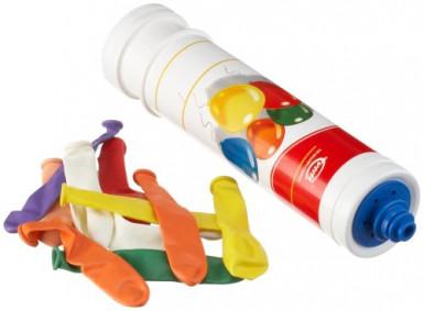 10 palloncini con pompa